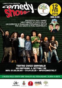 comedy show per greta