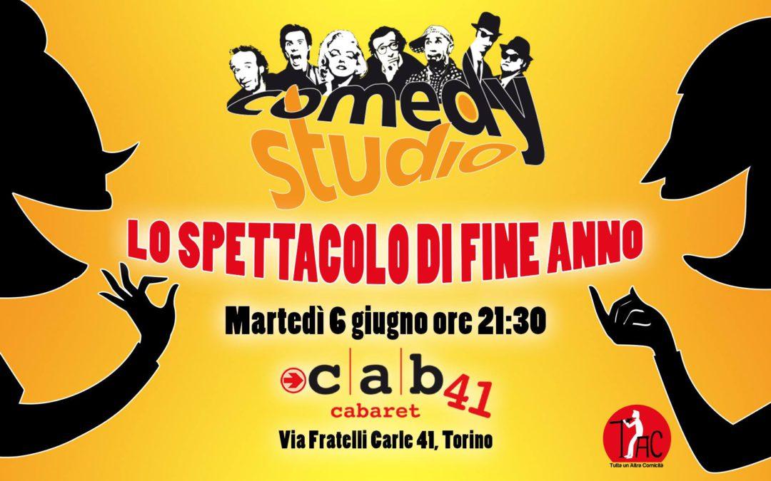 Comedy Studio in scena: il 6 giugno lo strepitoso spettacolo di fine anno!