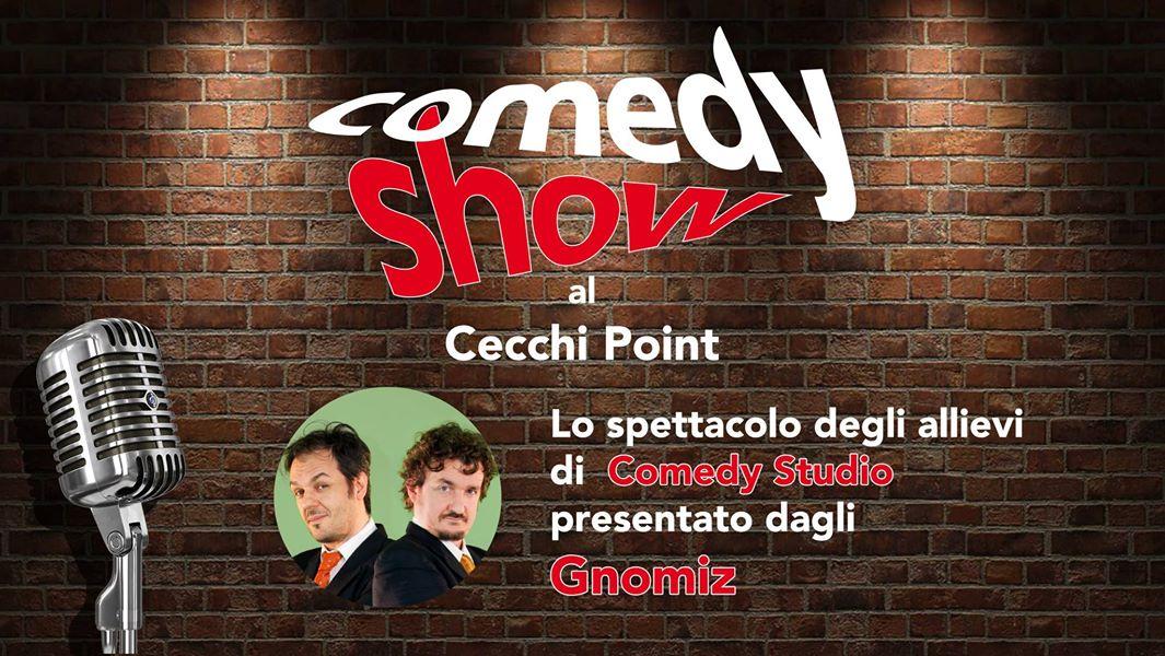 7 luglio 2017 -> Comedy show al Cecchi point