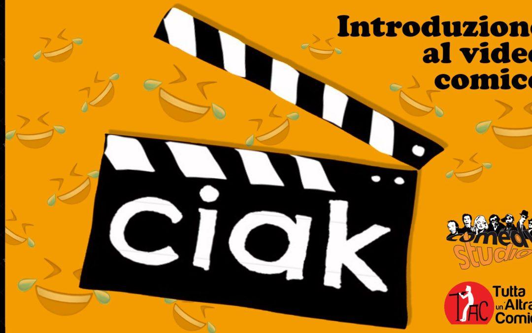 Incontro gratuito di introduzione al video comico