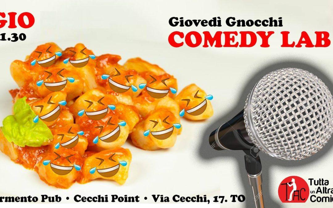 Giovedì 10 Gennaio 2019 – Comedy Lab
