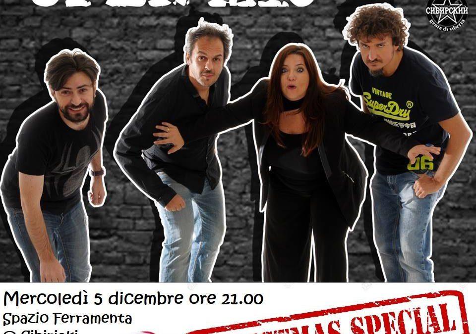 Mercoledì 5 Dicembre – Banditi Christmas Special – Open Mic Show