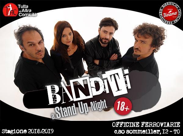 Venerdì 15 Febbraio 2019 – Spettacolo Banditi